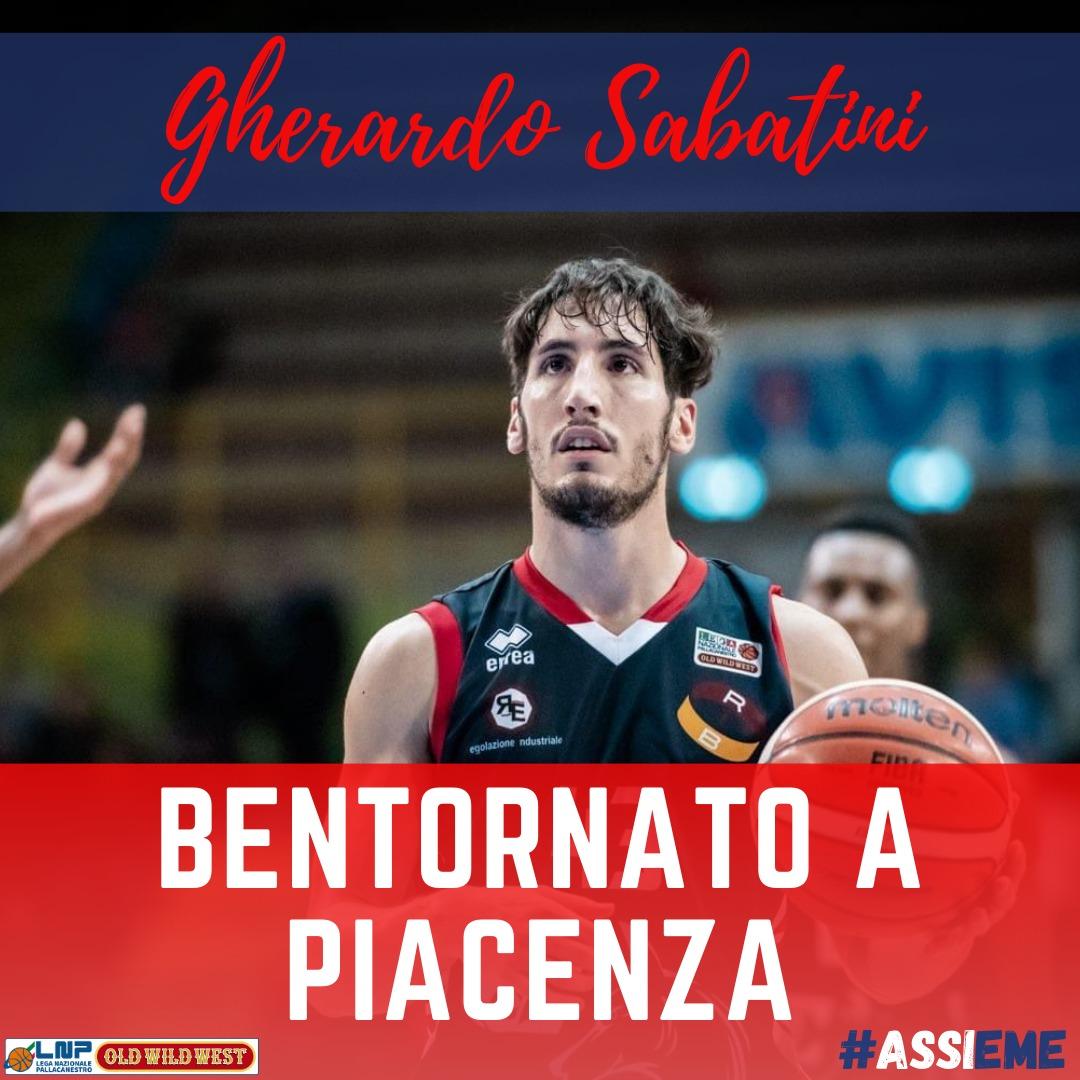 Gherardo Sabatini lascia la Fortitudo Bologna e va all'Assigeco Piacenza